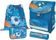 Školní taška Smart fotbal vybavený SET Herlitz