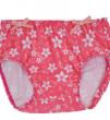UV plavací kalhotky - RŮŽOVÉ KVĚTY - Vel. 6 - 12 měsíců