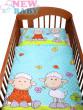 Dětské povlečení 2 dílné Ovečky tyrkysová 135 x 100 cm