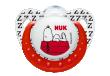 Silikonové šidítko NUK Trendline SNOOPY (6-18 měsíců) - Červené