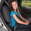 Sure Fit - Pás zajišťující pohodlnější umístění ramenních autopásů