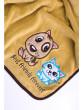 Dětská deka Sensillo Pejsek a Kočička 75x100 cm Brown dost.od 5.1.nezobra