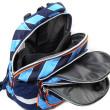 Školní batoh Goal - Modré proužky I. nezobra