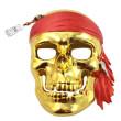 Maska pirátská lebka
