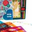 Meadow Kreslicí šablony s pastelkami velký box