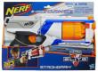 NERF Elite s pumpující rukojetí pro rychlou střelbu