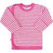 Kojenecká košilka New Baby Classic II s růžovými pruhy - Vel. 62