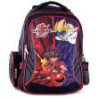 Školní batoh Bakugan - Černo-červený - 3D