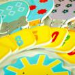 Meadow Pěnové samolepky do vany Balóny 1-10
