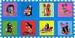 Pěnové puzzle, Krtek I modré 30x30 8 dílků