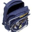Školní batoh Goal - 3D nášivka kopačky a fotbalového míče - číslo 7