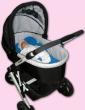 Multifunkční vložka 3v1 do kočárku či autosedačky Ivema Baby