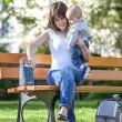 Ohřívač lahví cestovní Babymoov Blue Stars