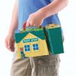 Mašinka Tomáš - hrací kufříková sada - Bill a obchod s barvami
