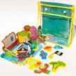 Meadow Sada pěnových hraček do vany Ostrov pokladů