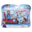 Frozen hrací sada pro malé panenky - Frozen Sleigh Ride