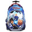 Školní batoh trolley Monsuno - 3D plastová nášivka