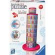Puzzle 3D Šikmá věž v Pise 216d Tula Moon Ravensburger