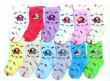 Kojenecké ponožky pejsek 12 -18 m - Lila