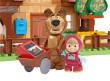 PlayBIG Bloxx Máša a medvěd - Míšův dům
