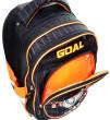 Školní batoh trolley Goal - 3D nášivka kopačky s fotbalovým míčem - číslo 10 nezobra