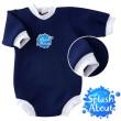 Baby neoprén-body - tmavě modrá - VEL. L (3 - 6 měs)