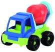 Pracovní auto plastové 20 cm - Míchačka