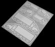 Reflexní nažehlovačky 9x12 cm - Auta