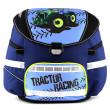 Školní batoh se svítícím elementem Leasyn - Traktor - Smart Strap