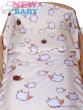 Dětské povlečení 2 dílné Ovečky béžová 120 x 90 cm