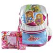 Školní batoh Cool set - 4-dílná sada - batoh Cool RockBabe + doplňky Winx