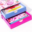 Meadow Kreslicí šablony s pastelkami mini box pro holčičky nezobra