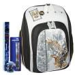Školní batoh Cool Cherry set - 4dílná sada - školní pomůcky
