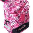 Školní batoh Hello Kitty - Modro-růžový s motivem srdíček nezobra
