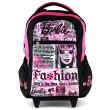 Školní batoh trolley Barbie - Newspaper s výstupem na sluchátka I.