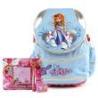 Školní batoh Cool set - 4-dílná sada - modrý batoh Cool RockBabe + doplňky Winx