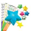 Vyrob si hvězdy a střílej 60ks papírových hvězdiček Alex