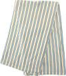 Letní deka bambusová proužek 100 x 135 cm - Letní deka bambusová 100 x 135 cm MODRO-TYRKYSOVÝ PROUŽEK