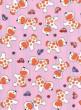 Růžové s pejsky