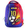 Batoh Goal - Modro-červený - chlapecký nezobra