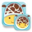 SKIP HOP Zoo Jídelní set/miska,talířek - Žirafa