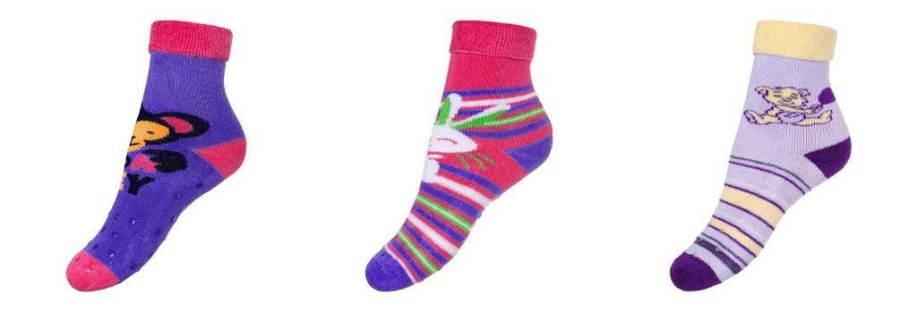 NEW BABY Dětské froté ponožky New Baby s ABS Vel. 86 (12-18 m)