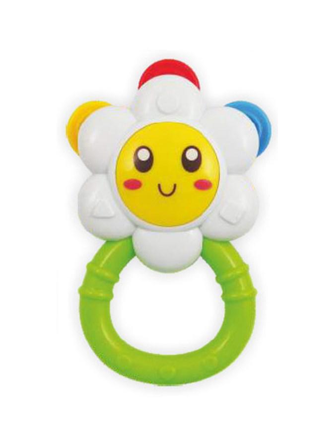BABY MIX Dětské chrastítko Baby Mix květinka