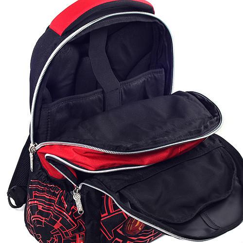 6851a7dbf14 ... Školní batoh Bakugan - Černo-červený ...
