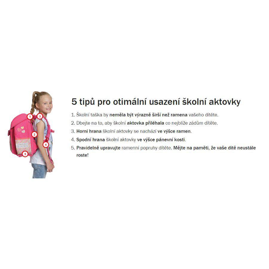 Školní batoh Herlitz Midi koně vybavený SET ... 464588d93d