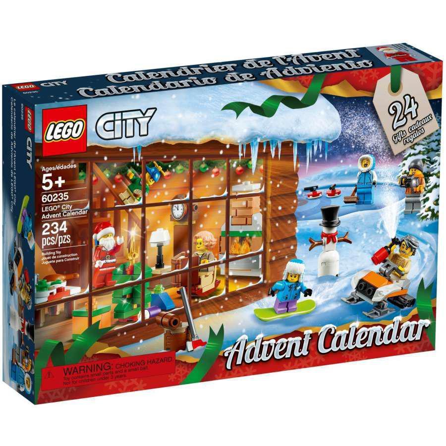 Lego City Lego City Town Adventní kalendář LEGO® City