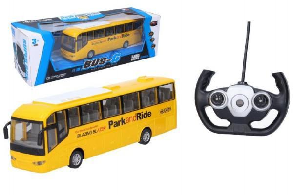 Wiky Autobus RC plast 28cm na dálkové ovládání + bateriový pack