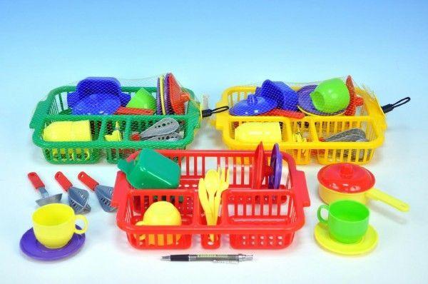 Nádobí s odkapávačem plastové