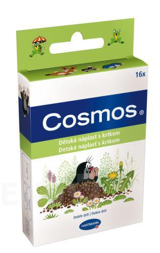 Hartmann Cosmos dětská náplast s Krtkem 16ks