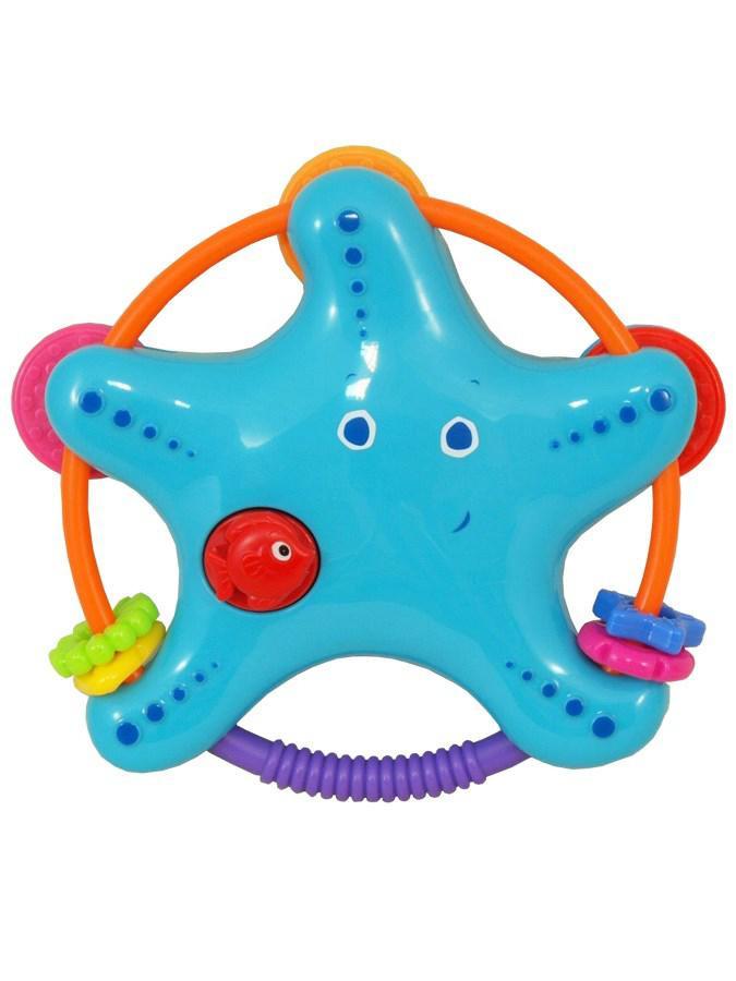 BABY MIX Chrastítko Baby Mix Hvězdička modrá